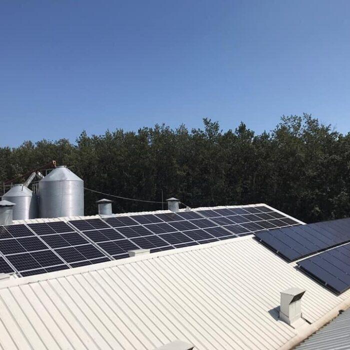 Agroprodukt Installed power 40kWp, E lidhur me rrjetin(On-grid)